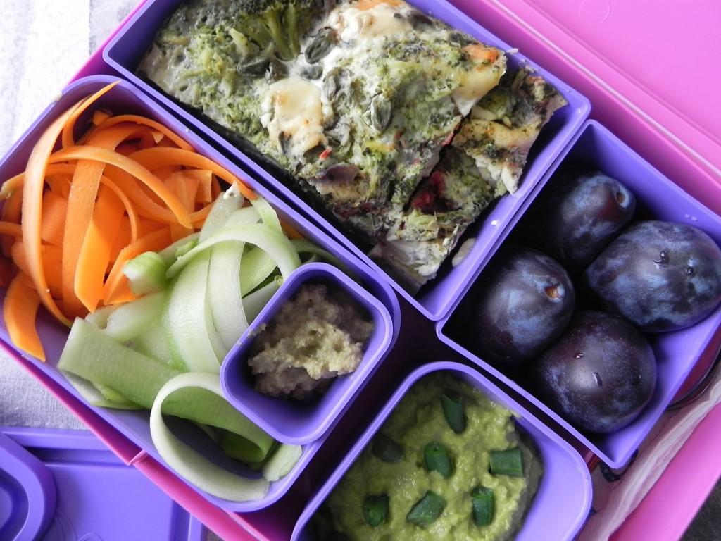 Lunchbox меню: Лазаня с броколи и спанак