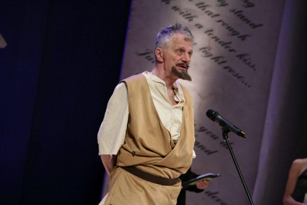 Georgi Novakov v roljata na Don Kihot