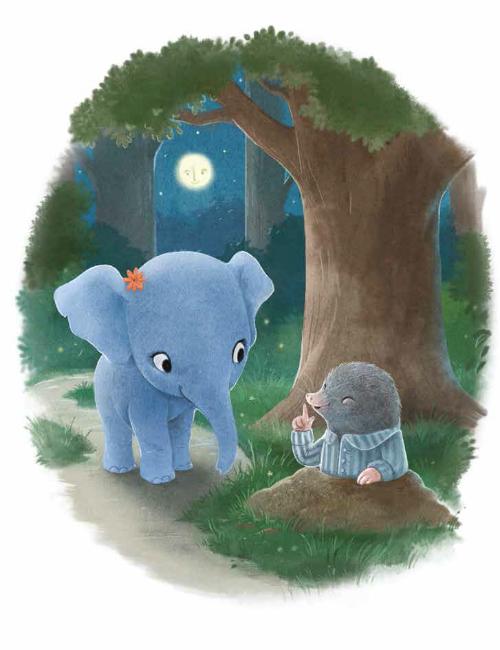 Красивите илюстрации в книжката са дело на Сидни Хансон