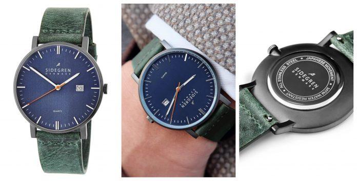 Ръчен часовник Sidegren Woodlands Kevil